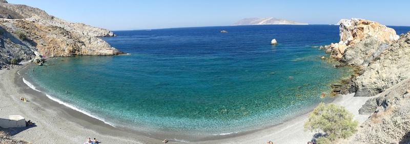 Folegandros Vardia Bay