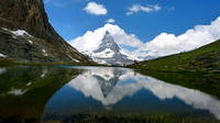 Matterhorn from walk down from Gornergrat