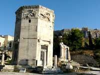 Tower of the Winds, Roman Agora
